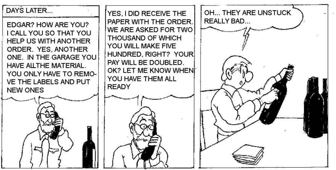 Wine looters 90